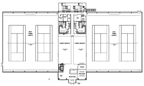 Lighthouse Floor Plans by Highland Meadows Fitness Amp Tennis