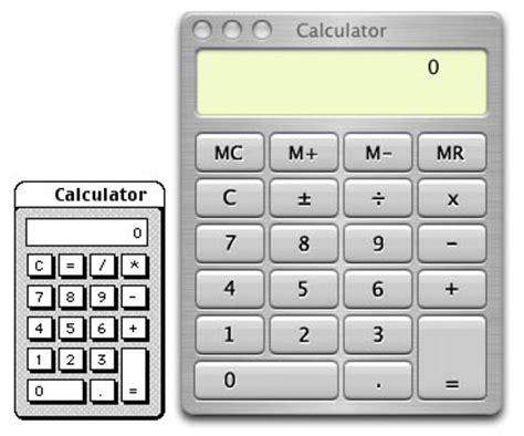 calculator on mac mac os calculators compared spudart