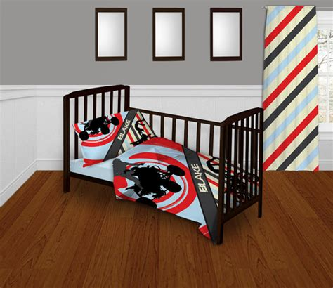Motocross Crib Bedding Baby Bedding For Boys Atv Motocross Bedding Set
