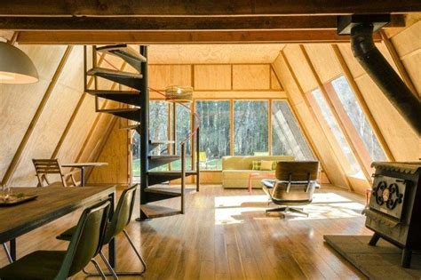 a frame home interiors modern a frame cabin near the sierra national forest