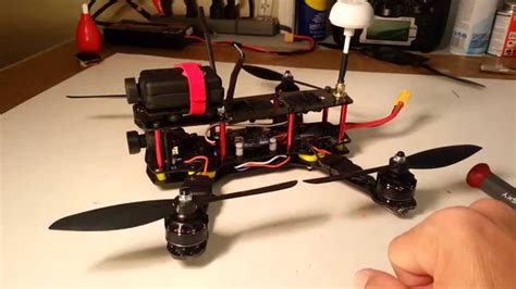 build an a frame zmr250 minihquad build overview youtube
