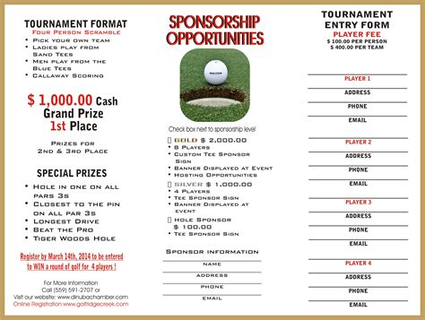 golf tournament thank you letter sponsorship sles