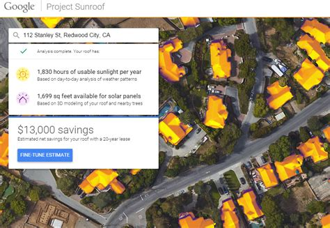 google announces project sunroof to help power the world google announces project sunroof offers free solar data