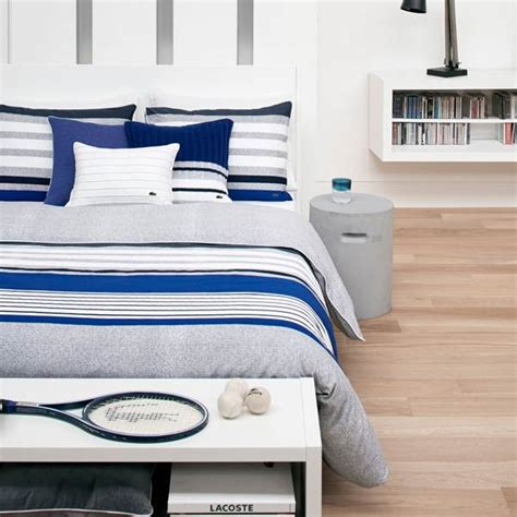 shop lacoste auckland blue bed covers the home