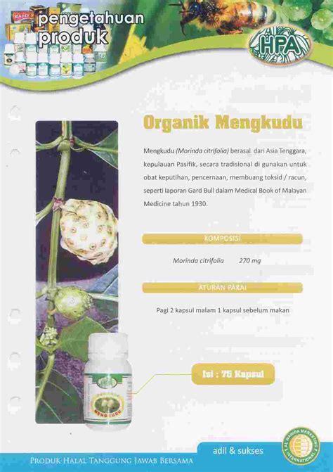 Obat Herbal Mengkudu herba penawar alwahida organik mengkudu obat herbal alami