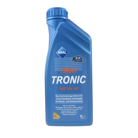 Aral High Tronic 5w 40 1 Liter 1 aral hightronic 5w 40 ato24