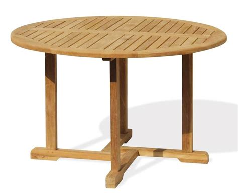 Teak Patio Tables Canfield Teak Patio Table And Stacking Chairs