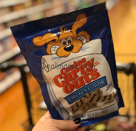 canine carry outs treats canine carry outs treats only 0 63 deal