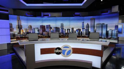 News Studio Desk by Wls Channel 7 Debuts Weather Centric News Program Set