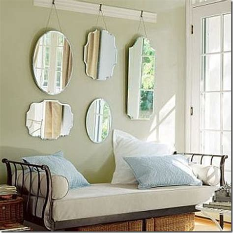 decorating with mirrors this southern nest