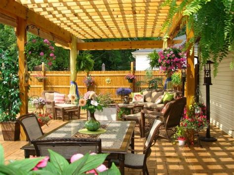 pergola ideas for small backyards pergolas jardin de madera una zona de recreo ideal