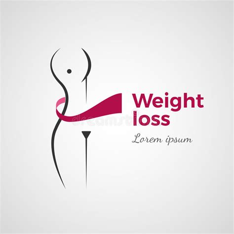Fatlos Logo Japanese weight loss concept stock vector image of illustration 90393241