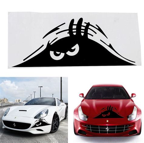 Auto Sticker Funny by New Funny Peeking Monster Auto Car Walls Windows Sticker
