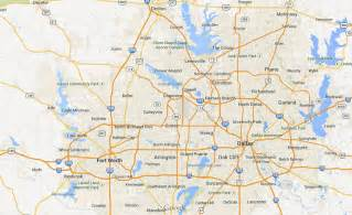 Dallas Map Google by Google Maps Dfw My Rome