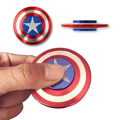 Fidget Spinner Capten America Spinner captain america shield fidget spinner
