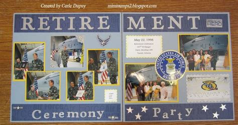 scrapbook layout for retirement 17 best images about army scrapbook on pinterest
