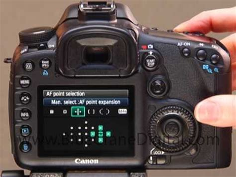 pinpointing focus with the canon 7d youtube