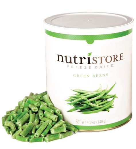 Shelf Of Green Beans by Freeze Dried Green Beans