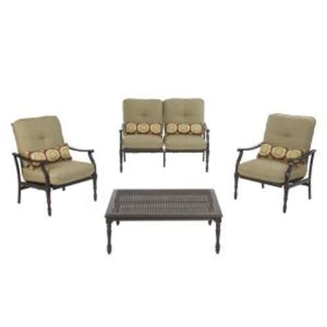 martha stewart metal pembroke patio rockers loveseat set