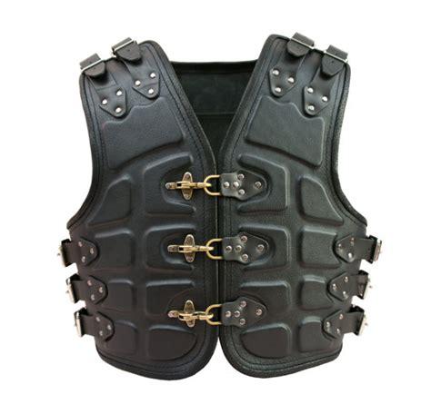 Handmade Leather Vest - turtle handmade genuine leather biker motorcycle vest