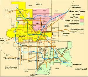 Las Vegas City Map by Las Vegas Interactive Map