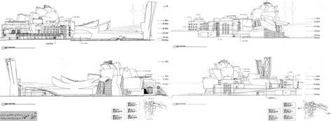 guggenheim museum bilbao floor plan معماری موزه گوگنهایم بیلبائو به همراه پلان ها فرانک گهری