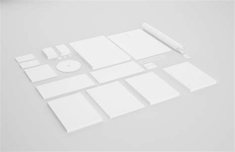 blank mockup templates 15 free high resolution corporate identity mockup templates