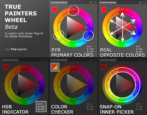 color wheel photoshop true painters wheel beta by pvproject on deviantart