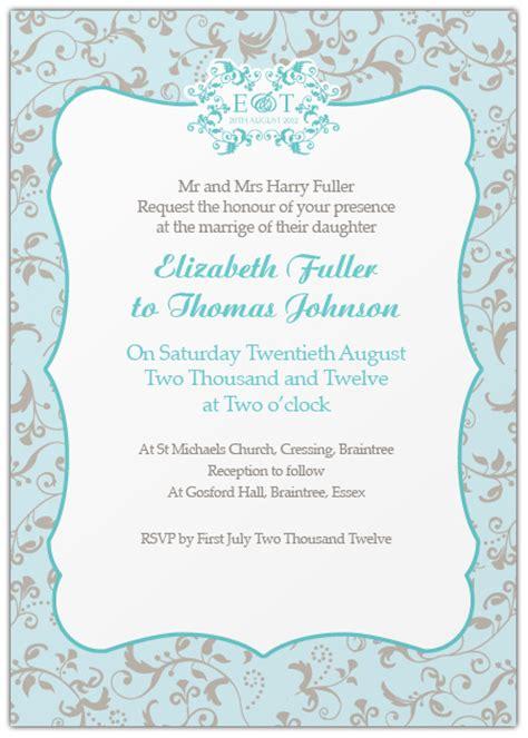 sle informal wedding invitations wedding invitation wording etiquette ink curls