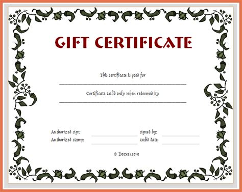 design your own certificate templates create your own gift certificate bio exle