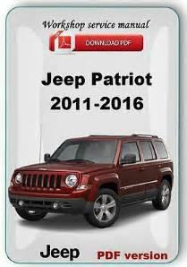 2010 Jeep Patriot Service Manual Jeep Car Truck Manuals Literature Parts
