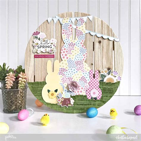easter home decor diy easter home decor pebbles inc