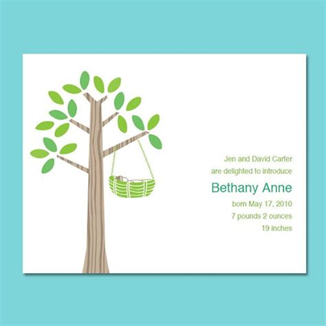 free birth announcements templates 5 best images of create free printable birth announcements