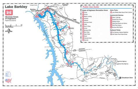 kentucky lake map pdf nashville district gt locations gt lakes gt lake barkley gt maps