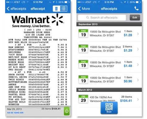 digital receipts template walmart grocery list app grocery list template