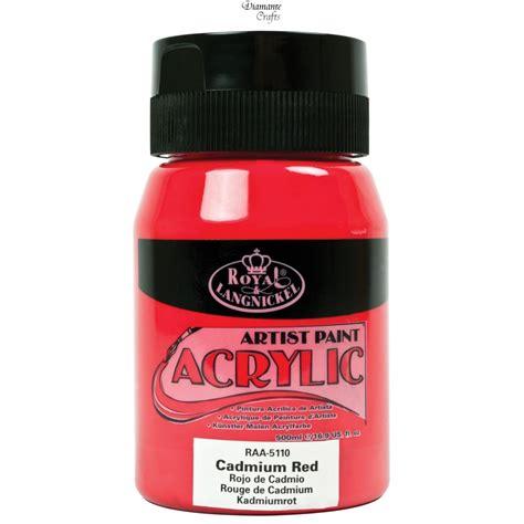 acrylic paint essentials royal langnickel 500ml essentials tubs acrylic paint