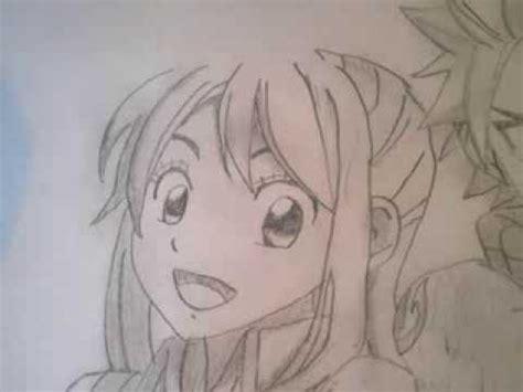 comment dessiner natsu et lucy de fairy tail youtube