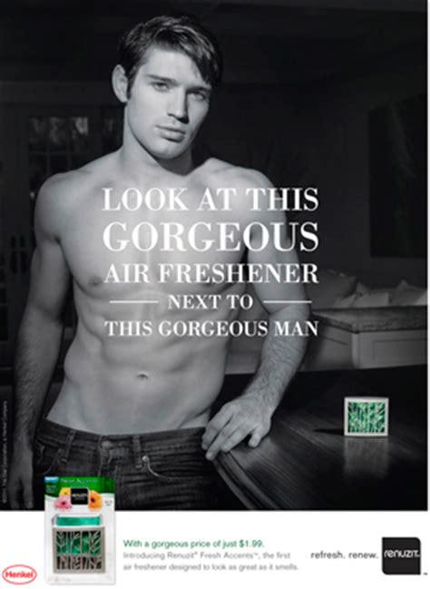 men are now objectified more beefcake and a six pack marketing and design