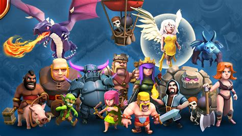clash clans troops image for clash of clans troops wallpaper hd clash of