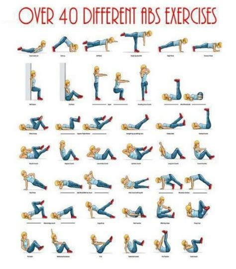 40 different ab exercises mrstoddjourney