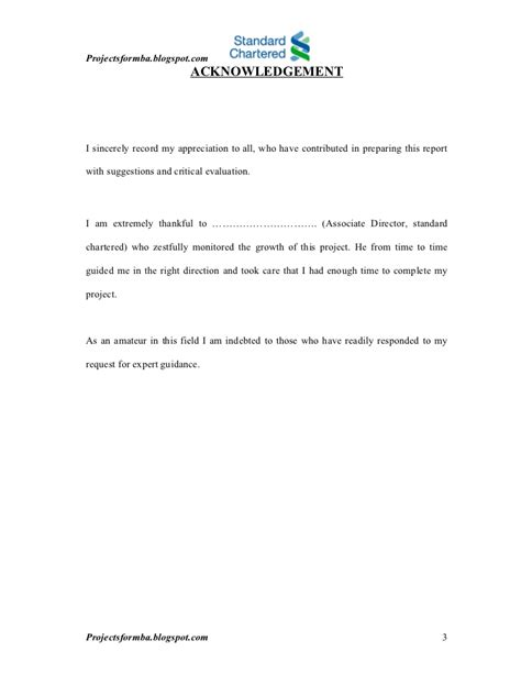 Standard Chartered Bank Letterhead Format a study of management at standard chartered bank
