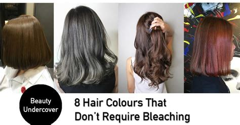 best colour to use on bleached hair to give low lights trendy hair colours that do not require bleaching in