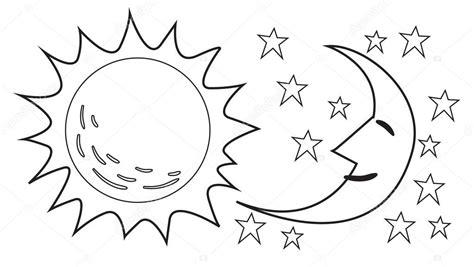 imagenes sol negro el sol y luna doodle archivo im 225 genes vectoriales