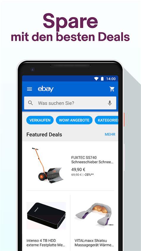 Auto Kaufen App by Ebay Kaufen Verkaufen Sparen Neu Gebraucht