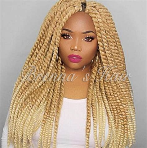 crochet hsir blonde ombre 27 613 blonde color havana mambo twist crochet hair