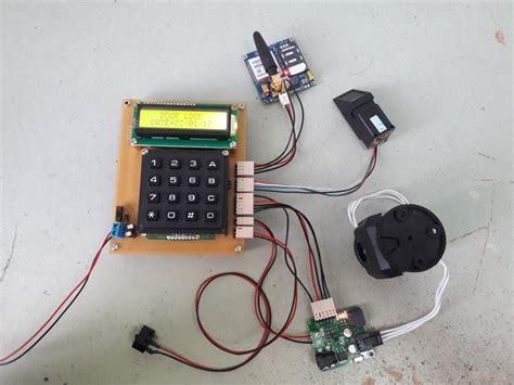 Perlengkapan Tambahan Gsm Alarm shahrulnizam pic project fingerprint door lock gsm
