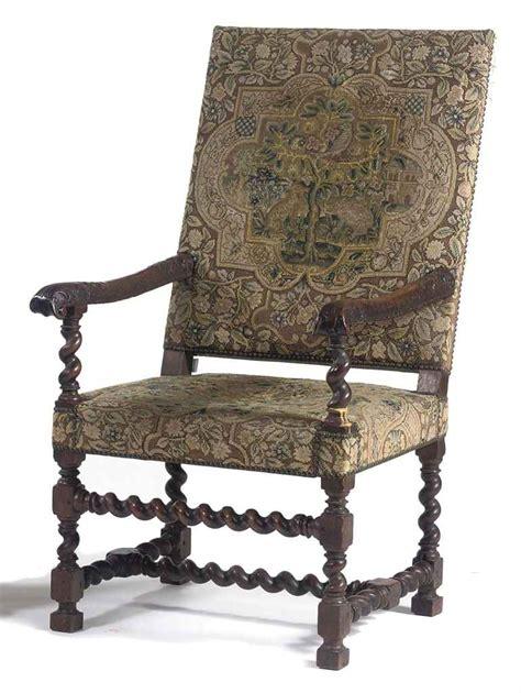 Louis Fourteenth Furniture by A Louis Xiv Walnut Highback Armchair 17th Century