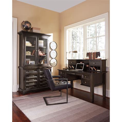 townser home office desk with hutch ashley signature design townser solid pine home office