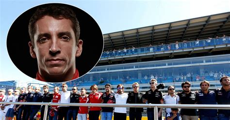 film everest monza lewis hamilton leads formula 1 stars in minute s silence
