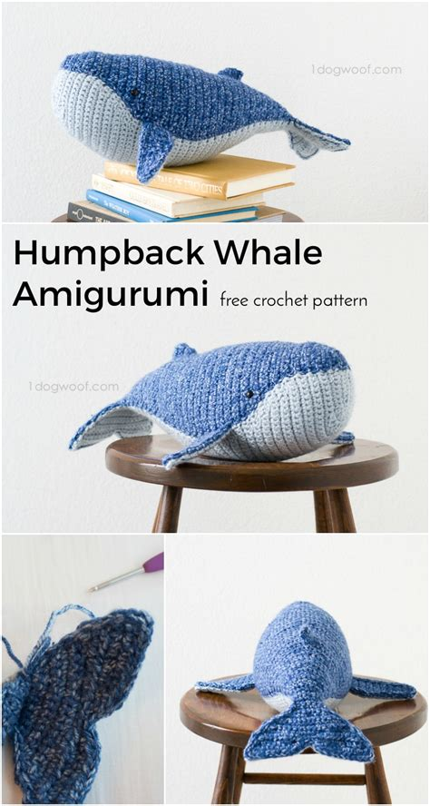 one woof baby humpback whale crochet pattern one woof autos post